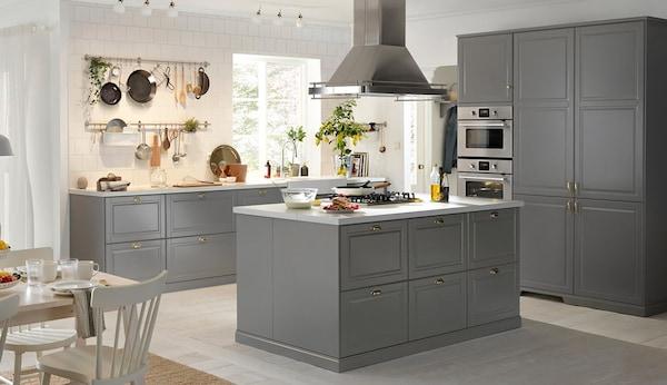 Credenza Alta Ikea : Cucina completa metod bodbyn ikea