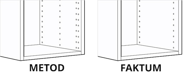 FAKTUM/METOD kitchen information | Customer services - IKEA