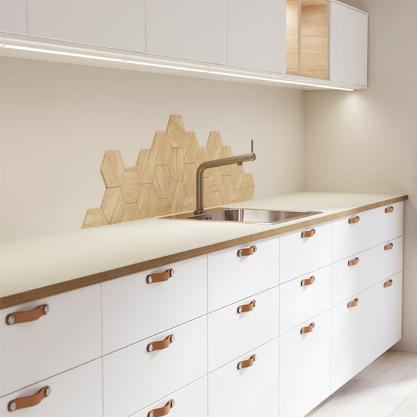 METOD HAGGEBY witte keuken