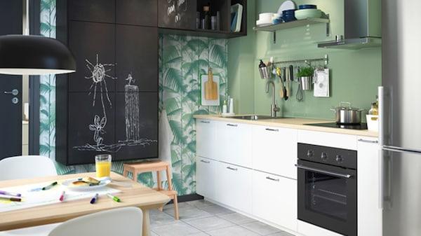 Hoogte Werkblad Keuken Ikea.Metod Keuken Technische Informatie Ikea