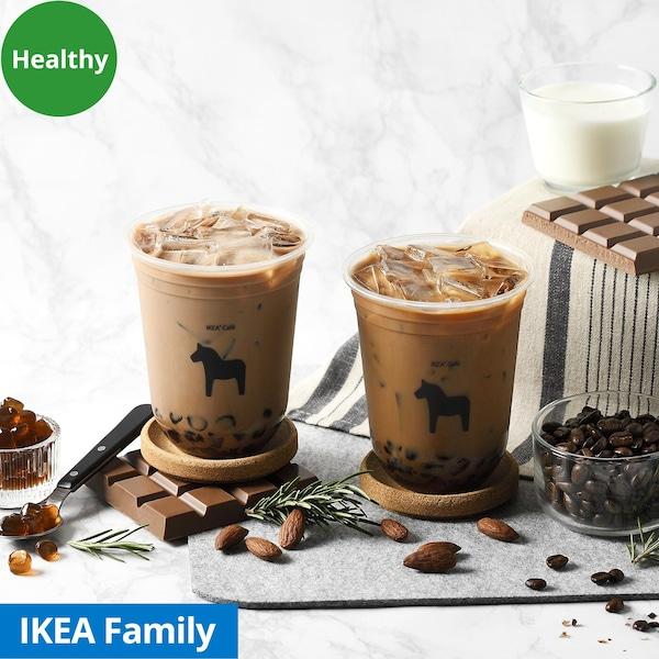 milk tea with Konjac bubble