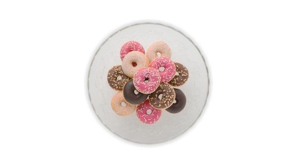 Mini donut, diverses sortes