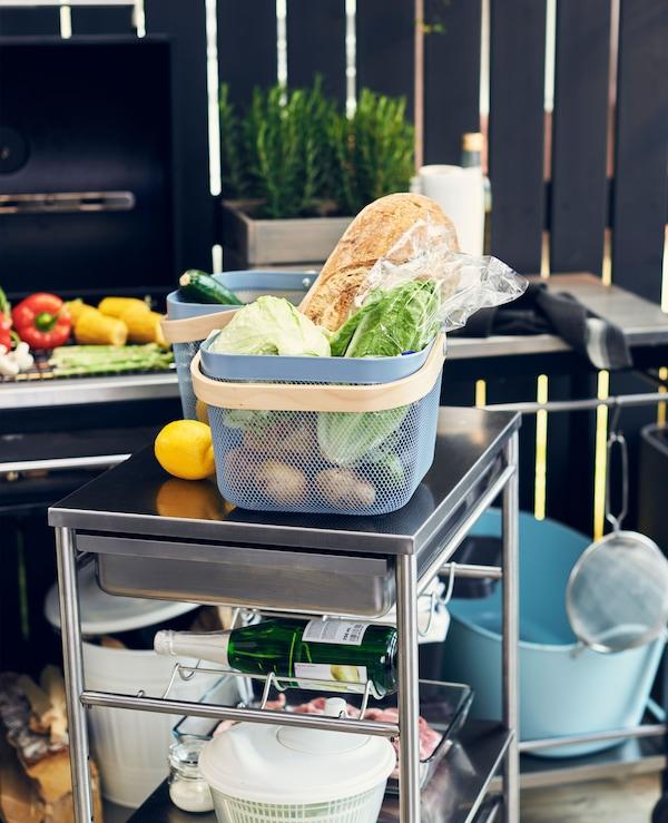 Outdoor-Küche Planen