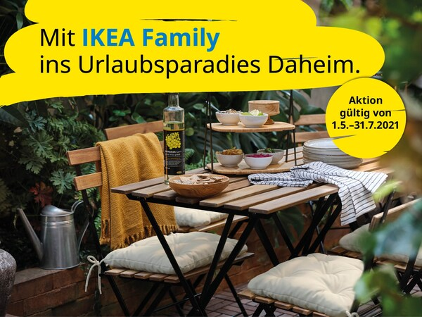 Mit IKEA Family ins Urlaubsparadies Daheim GIF