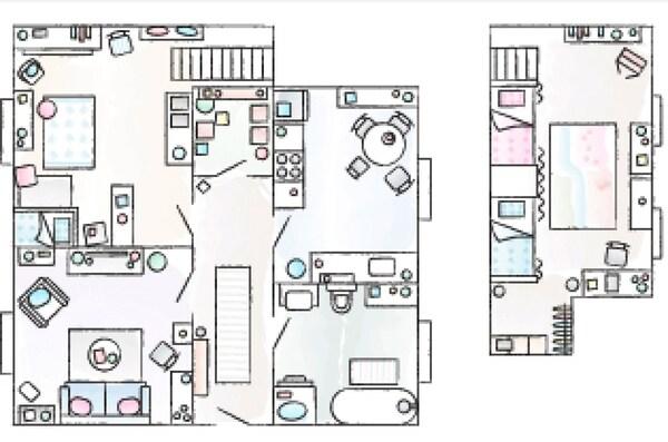 مخطط منزل سيلكي.