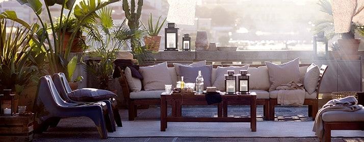 Mobili da giardino e arredamento per esterni ikea for Arredo terrazzo ikea