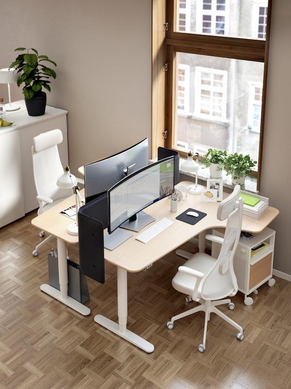 Mobiliario de oficina para concentrarse mejor