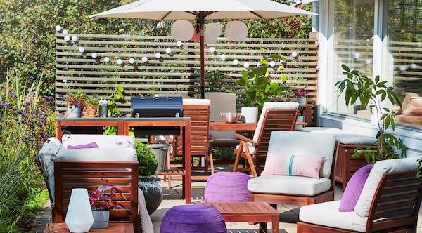 mobilier extérieur, meubles de jardin