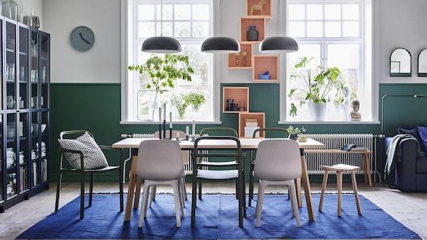 Meuble Salle A Manger Tables Chaises Buffet Et Ikea