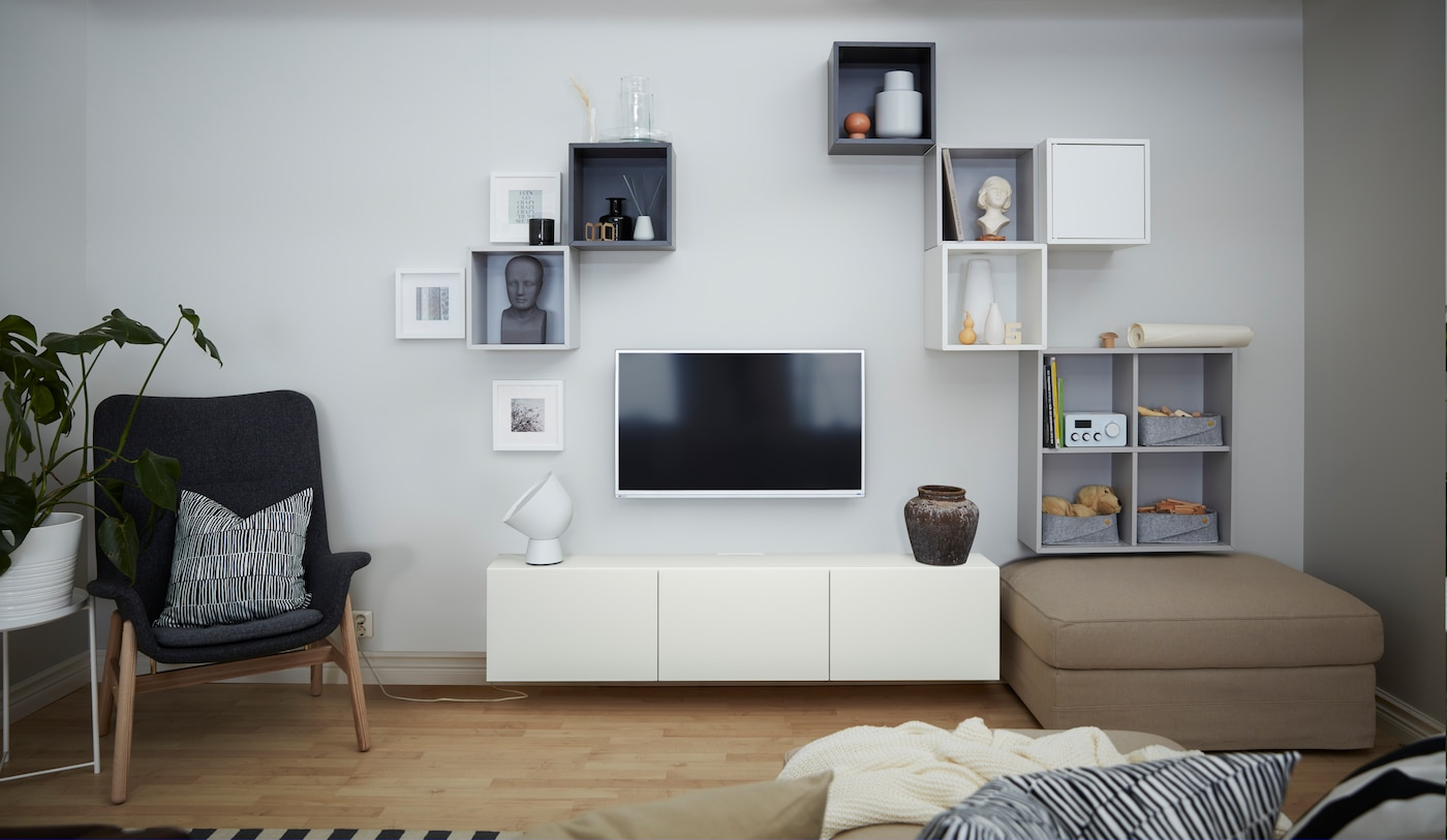 Modern living rooms: inspiration, ideas and tips - IKEA