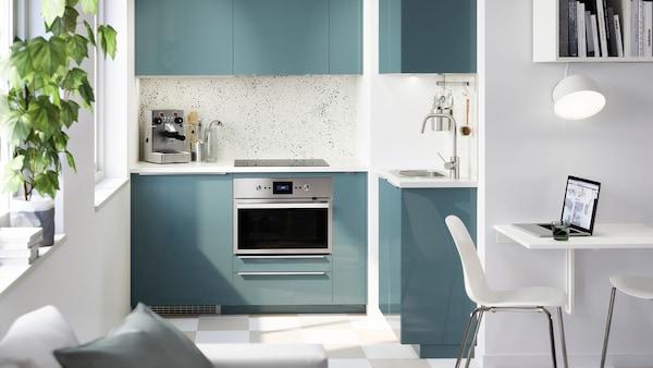 kj kken kallarp i turkisgr h yglans ikea. Black Bedroom Furniture Sets. Home Design Ideas