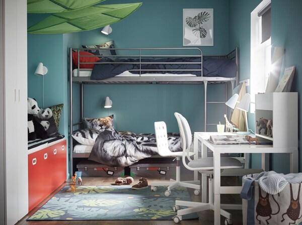 Kinderzimmer Modern Gemutlich Gestalten Ikea
