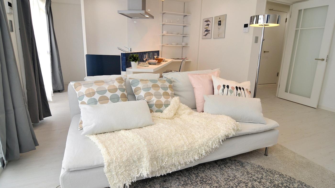 モデルルームとして、イケアの家具でフルリフォーム