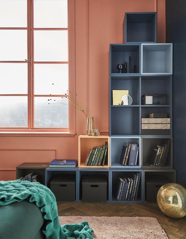 Open cabinet wall storage ideas - IKEA®