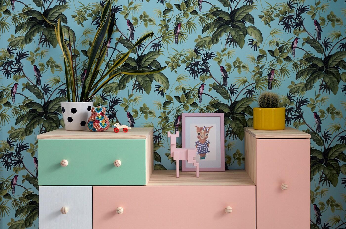 Möbel schnell aufgefrischt mit Farbe.