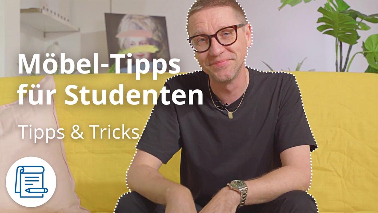 Möbel-Tipps für Studenten