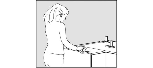 Montage des caissons bas de cuisine IKEA