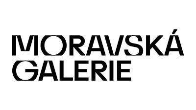 Moravská galerie logo.