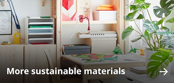 More sustainable materials