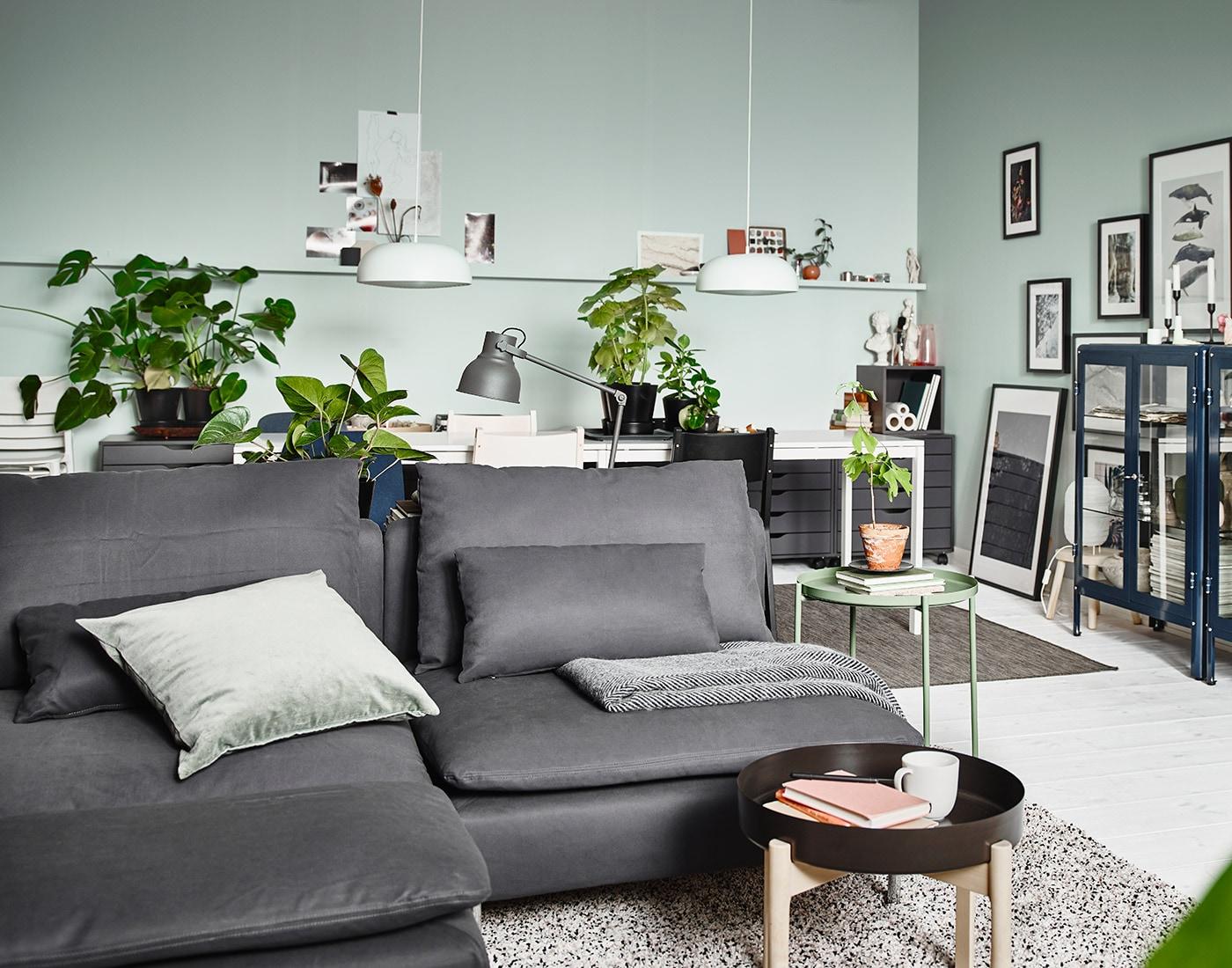Stuemobler Fa Inspiration Til At Indrette Din Stue Ikea