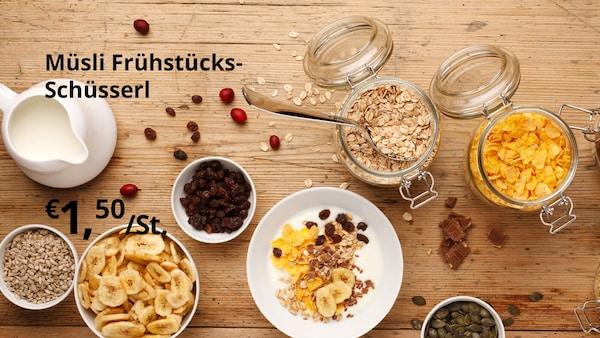 Müsli Frühstücks-Schüsserl