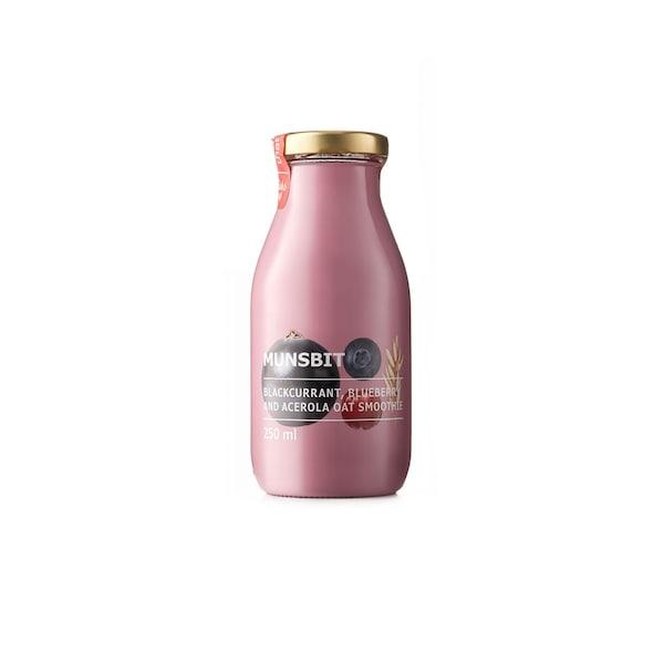 MUNSBIT Blackcurrant blueberry oat smoothies