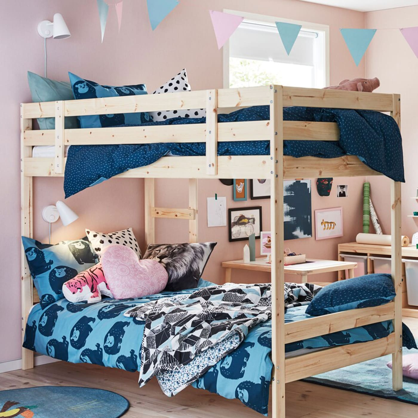 Big Bunk Bed For One Child