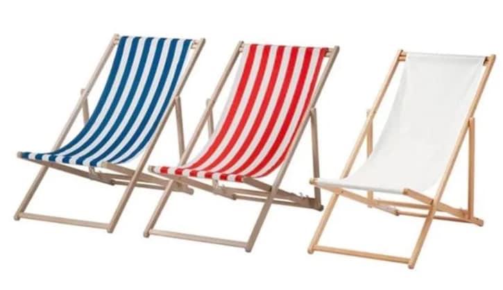 chaise de plage rappel