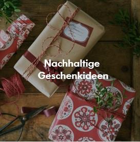 Nachaltige Geschenkideen