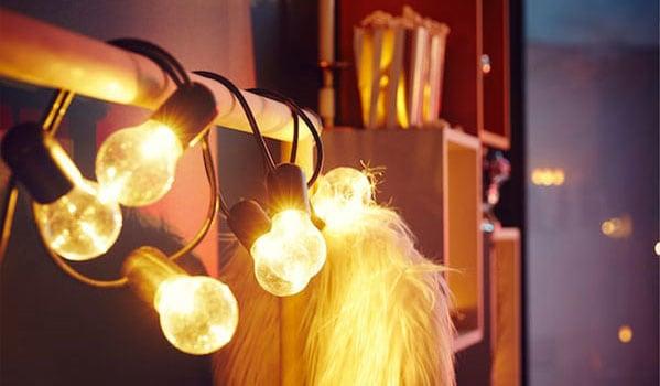 Nachhaltige LED-Lampen von IKEA