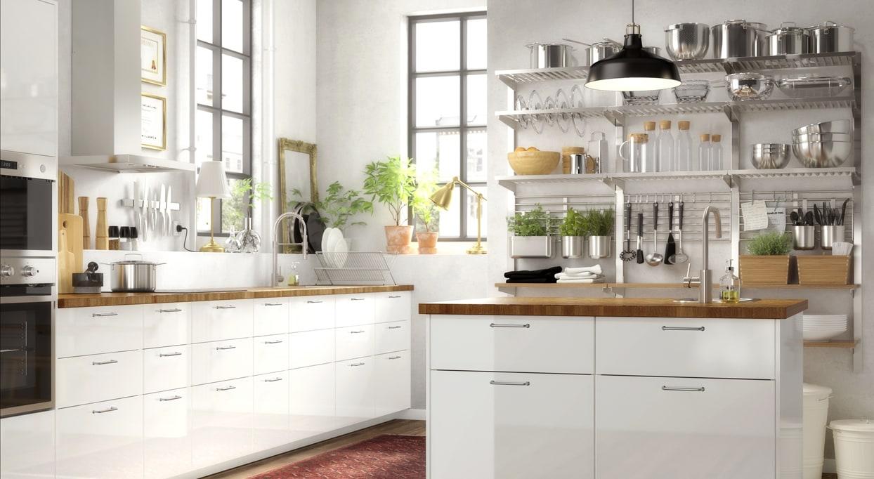Kj kken ringhult hvit ikea - Ikea kitchen designer los angeles ...