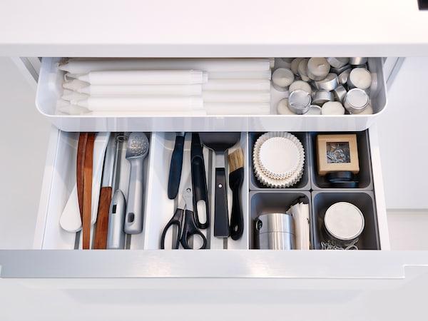 Küchenschränke organisieren: praktische Tipps - IKEA ...