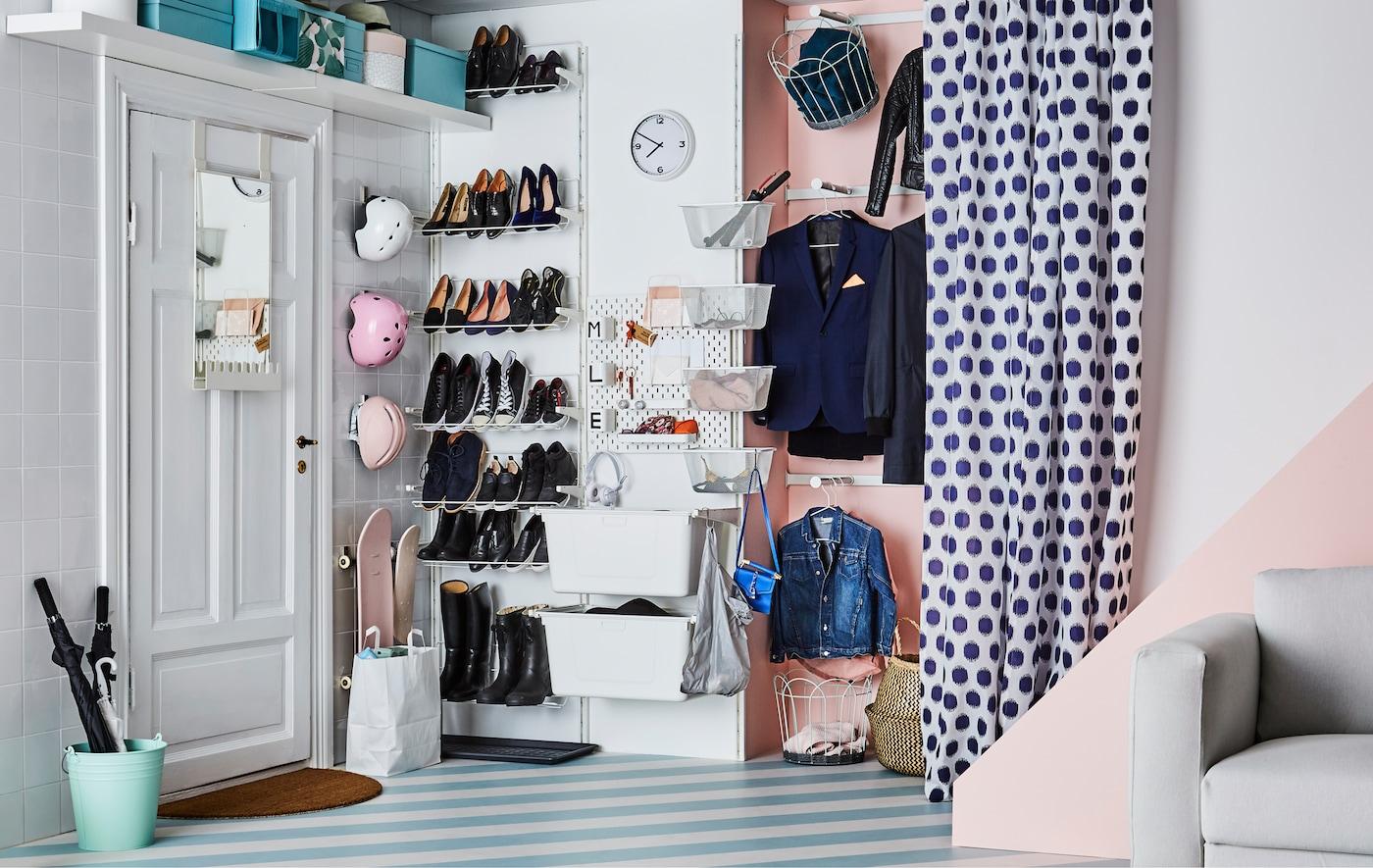 Eingangsbereich organisieren: Profitricks - IKEA