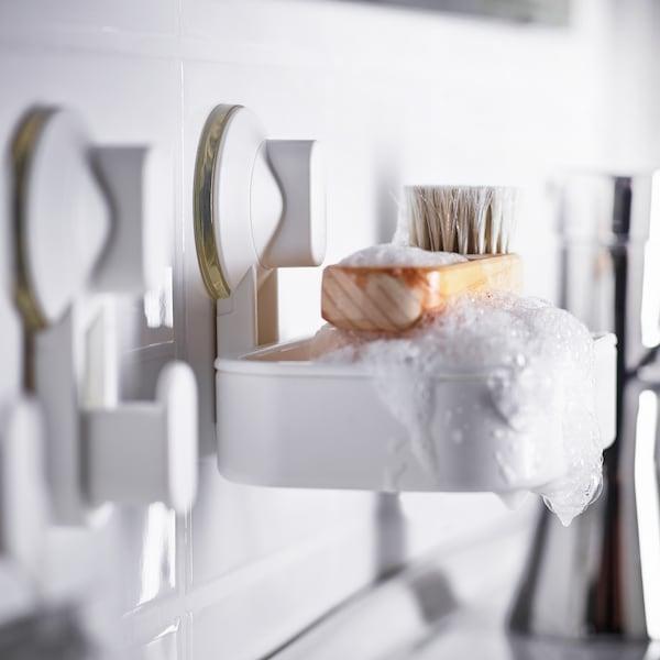 Badhalterungen ohne Bohren: Alles an der Wand - IKEA