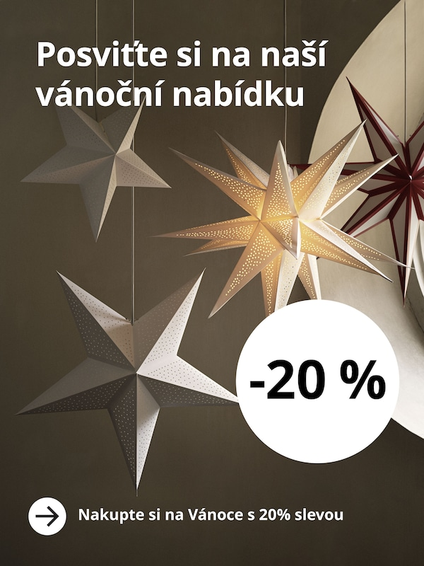Nakupte si na Vánoce s 20% slevou.