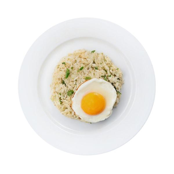 Nasi Goreng dengan Telur Mata Kerbau