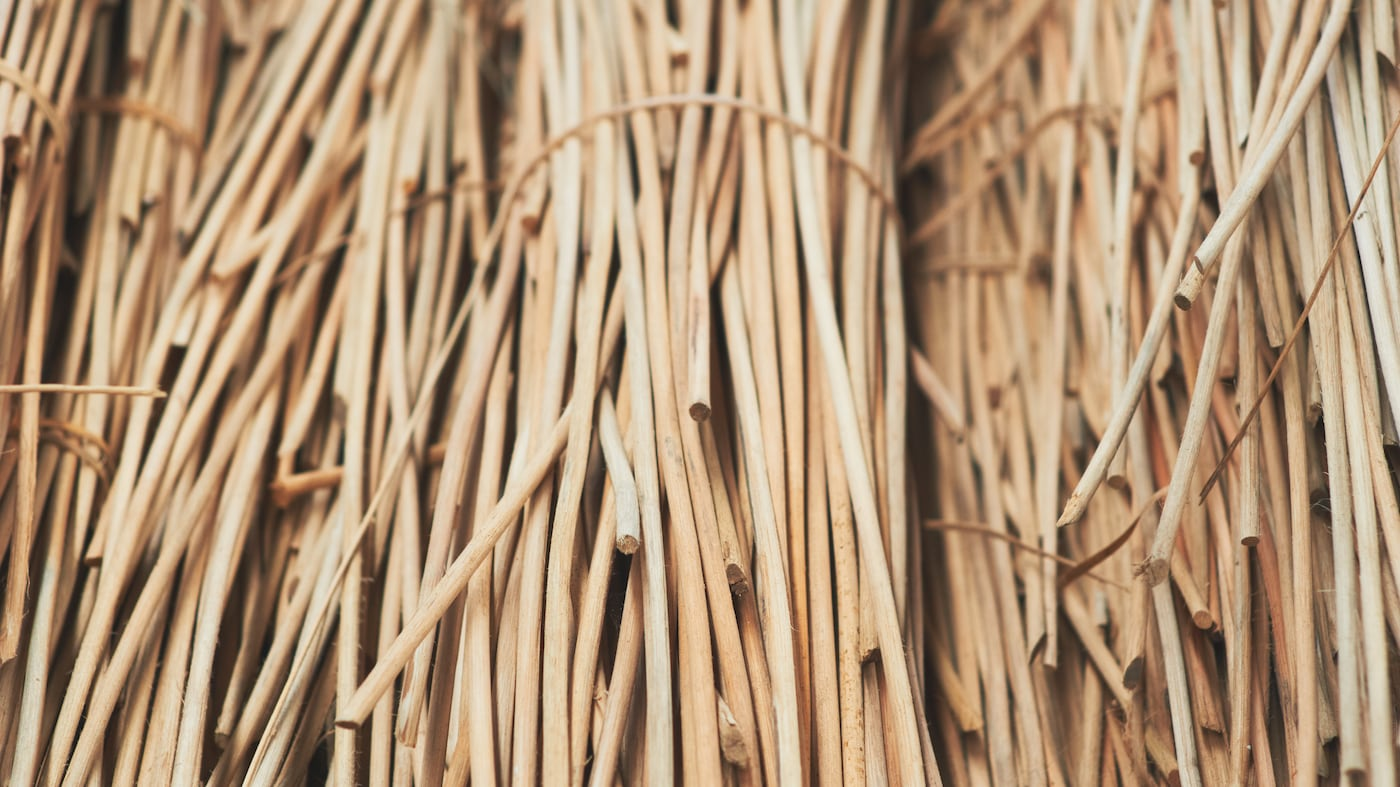 Naturfiber är ett hållbart material.