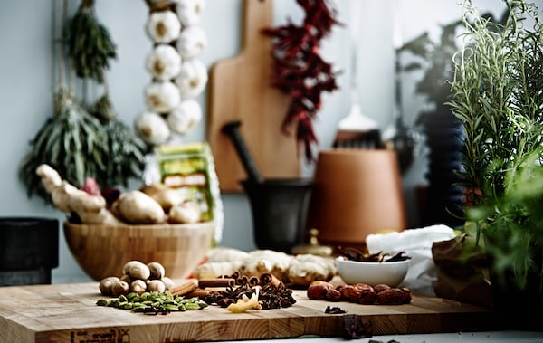 Never cook with lacklustre flavours again! With some storage and cooking tips it's easy to get big taste from your herbs and spices.