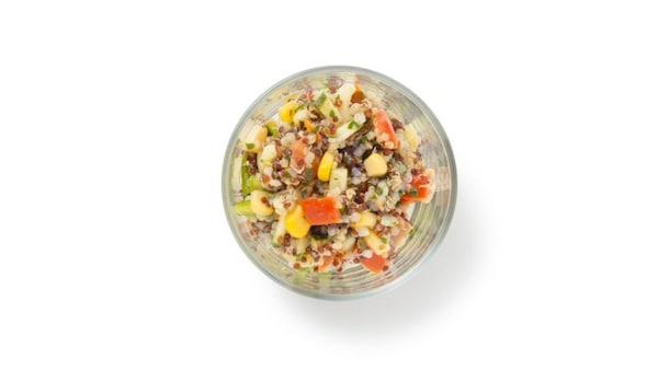 New: Quinoa salad