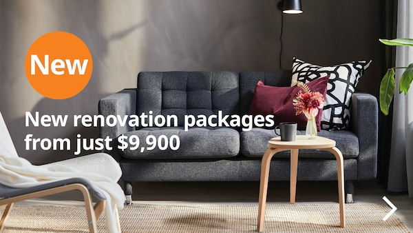 New renovation packages from just $9,900
