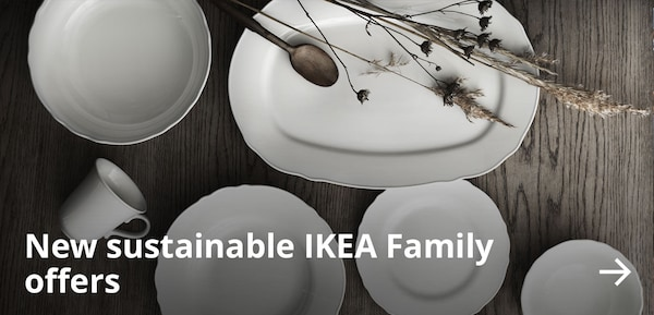 New sustainable IKEA Family offers.