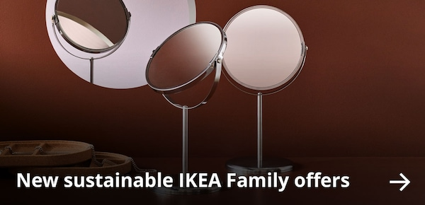New sustainable IKEA Family offers