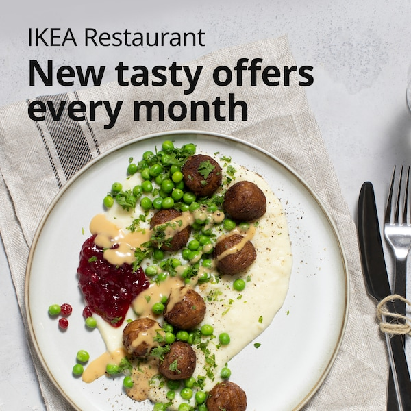 New tasty offers from IKEA Restaurant every month