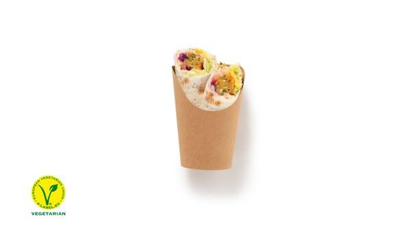 New: Wrap vegetarian