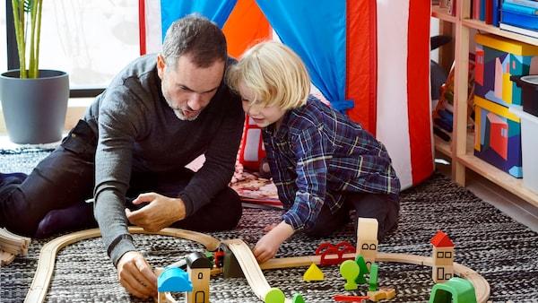 Nimm dir Zeit, mit den Kindern zu spielen - IKEA
