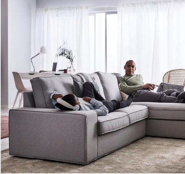 Ikea sofaer til stuen ikea - Divani ikea kivik opinioni ...