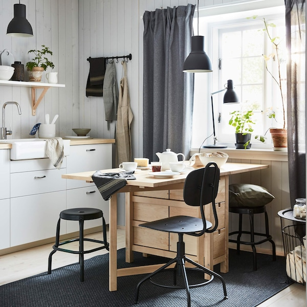 NORDVIKEN dining table and chair