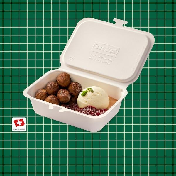 Nouveau au bistrot : boulettes de viande/boulettes végétales