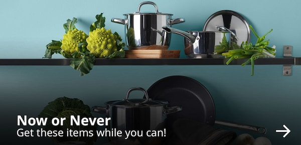 Now or never. Get these items while you can!