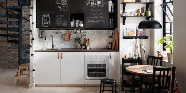 Seria Veddinge Biała Kuchnia Ikea
